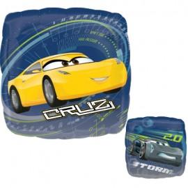 45cm Cars Cruz & Storm 2 Sided Design