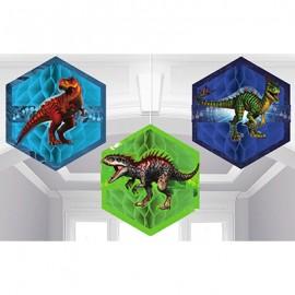 Jurassic World Honecomb Decorations