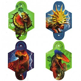 Jurassic World Blowouts with Medallions