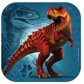 Jurassic World Dinner Plates Square