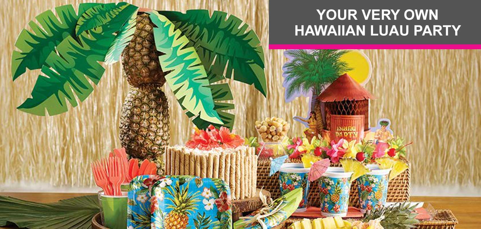 Your Very Own Hawaiian Laua Party